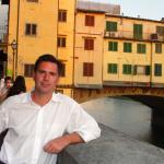 El Pontevecchio sobre el rio Arno en Florencia