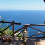 Vista desde nuestra terraza en Praiano