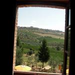 Vista imponente desde la habitacion de Podere Palazzolo en Castellina in Chianti