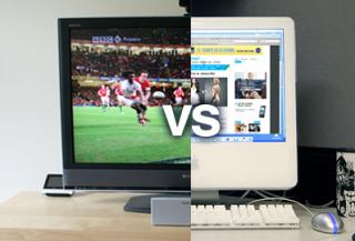 Internet versus TV y otros medios tradicionales