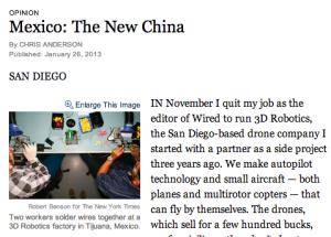 """Mexico: """"la nueva China"""""""