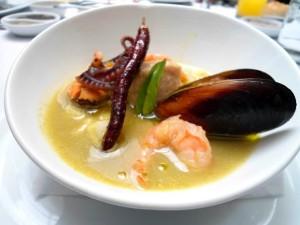 pozole de mariscos el secreto de polanco restaurante