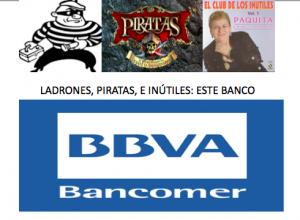 Una imagen que define perfectamente lo que es este banco BBVA Bancomer en México